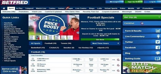 Betfred - Smart Gamblers Club