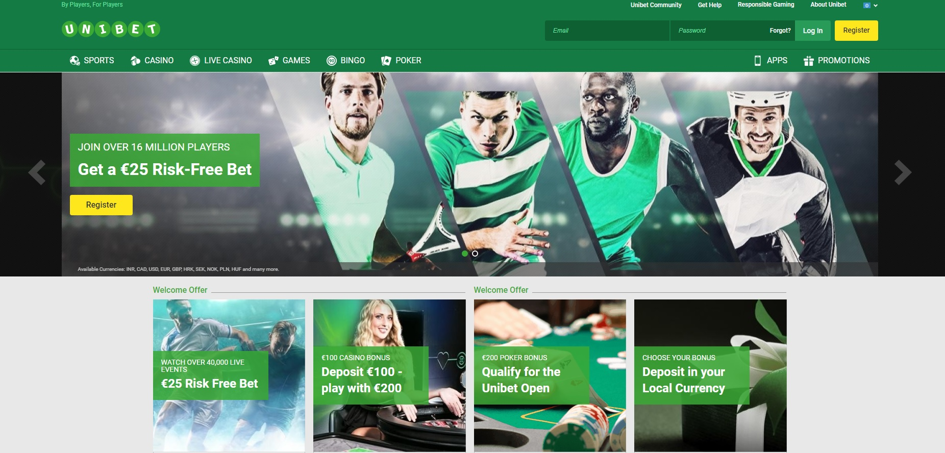 unibet - Smart Gamblers Club